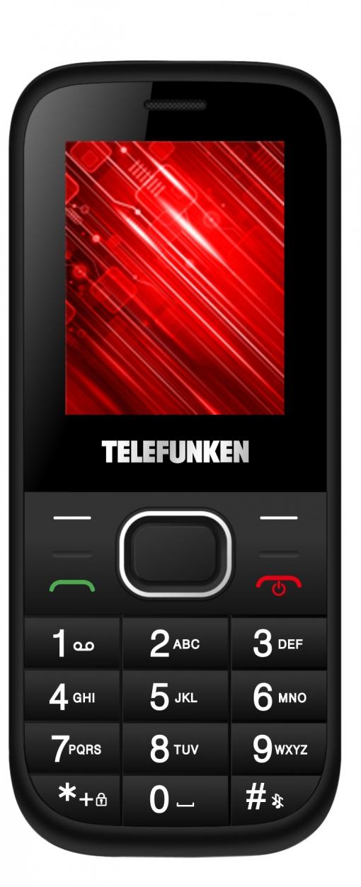 Móvil Telefunken Tm9.1 Classy Black White con Ofertas en