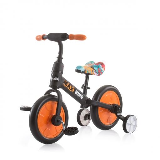 Bicicleta Infantil Con Ruedines Max Bike Orange De Chipolino