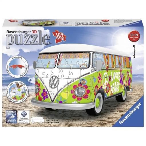 Vw Combi T1 Estilo Del Hippie 162p