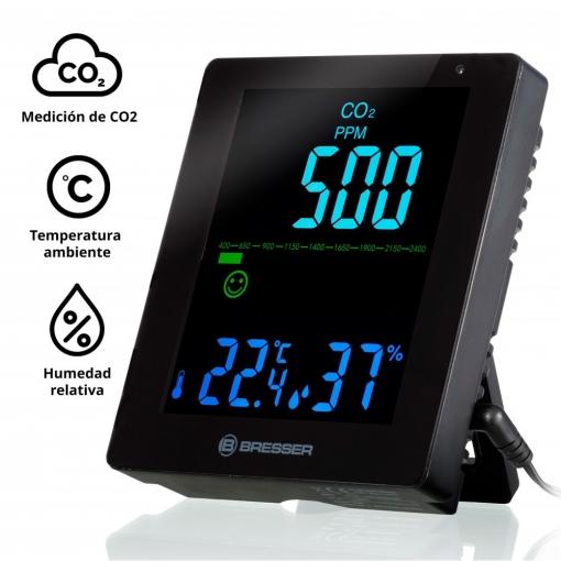 Medidor de CO2 Bresser Smile