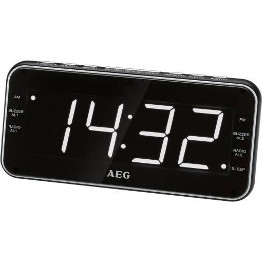 f1cdd2067a9b Aeg Radio Despertador Mrc 4157 Negro
