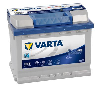 Batería Varta D53 - 60ah 12v 560a. 242x175x190