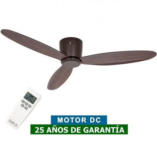 Casafan 313282 Ventilador Eco Plano Nogal Ii 132cm De Techo H9I2WED