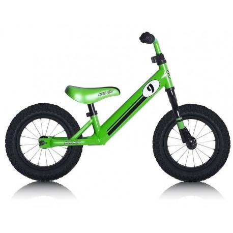 "Bici Aprendizaje Rebel Kidz 12,5"" Air Acero, Racing Verde"