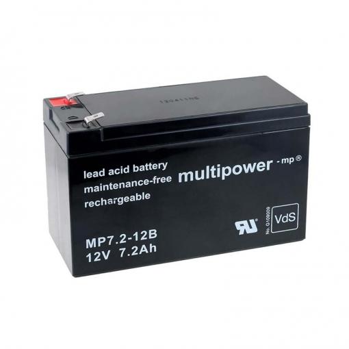 Powery Recambio de Bater/ía para USV APC Back-UPS CS 350