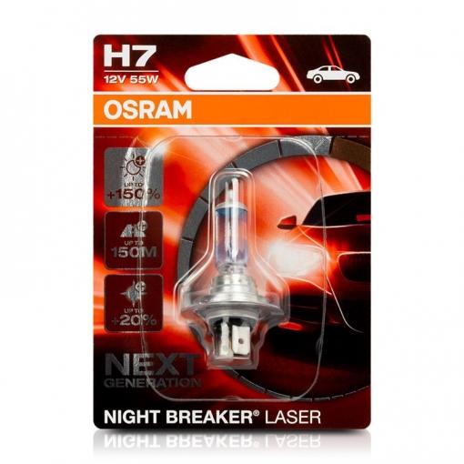 Lampara Osram 64210nl 01b H7 1 Night B Laser 55w12v 150 Next Generation Con Ofertas En Carrefour Las Mejores Ofertas De Carrefour