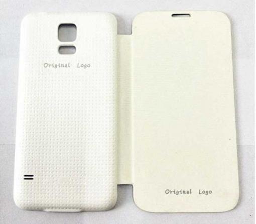 78d029d7b17 Funda Para Samsung Galaxy S5, I9600, Tipo Flip Cover, Blanca | Las ...