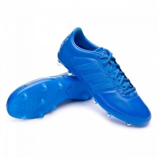 a7417aa16 Botas Adidas Gloro Fg Azul Piel