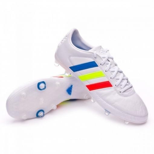 2de103961 Botas Adidas Gloro 16.1 Piel Canguro Blanco Niño