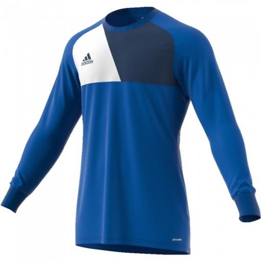 Camiseta Adidas De Manga Larga Portero Assita Azul Adulto  2bf5bc48459