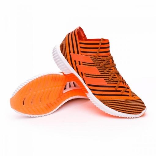 Botas Fútbol Adidas Nemeziz Tango 17.1 Tr Suela Lisa Naranja negro ... 96fc902ba6a90