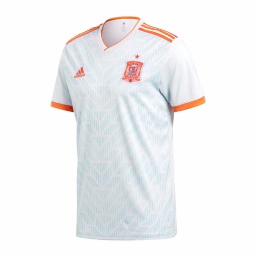 Camiseta Selección Española Segunda Mundial 17 18 Blanca Adulto ... dcb95cf30cc