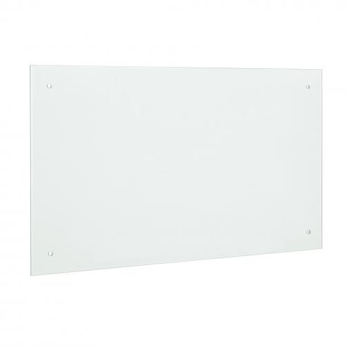[neu.haus Panel De Cristal Para Pared Cocina 90x50cm Mate Proteccin Contra Salpicaduras Pantalla Contra Salpicaduras