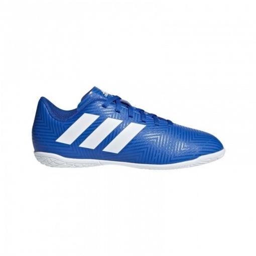 2ca43fe5cb448 Botas De Fútbol Sala Adidas Nemeziz 18.3 Teammode Suela Lisa Azul Niño
