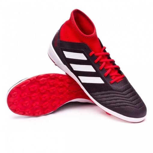 super popular 9b839 13cef Botas De Fútbol Adidas Predator Tango 18.3 Suela Tf Negro rojo Adulto