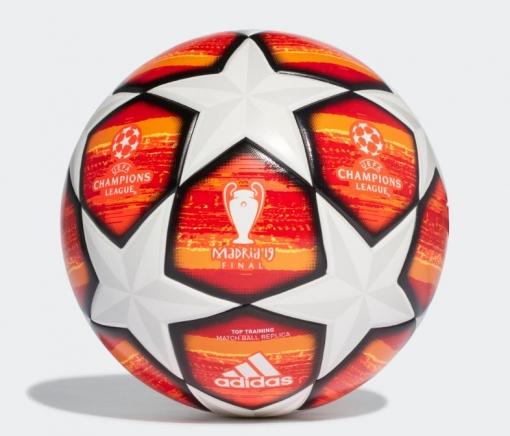 Balón Fútbol Adidas Finale Madrid Ttrn. Dn8676. Orange solar Red ... be493e688a87e