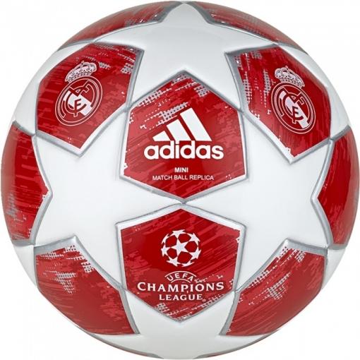 Mini Balón Adidas Finale Real Madrid Rojo Coral  d4f8d1429240f