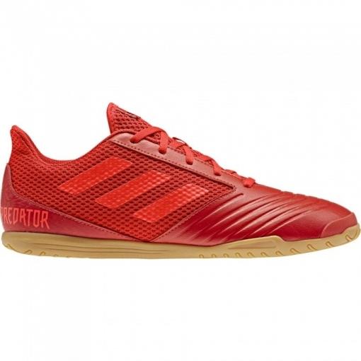 6fc8b66826c07 Botas De Fútbol Sala Adidas Predator19.4 Mode Suela Lisa Rojo Adulto ...