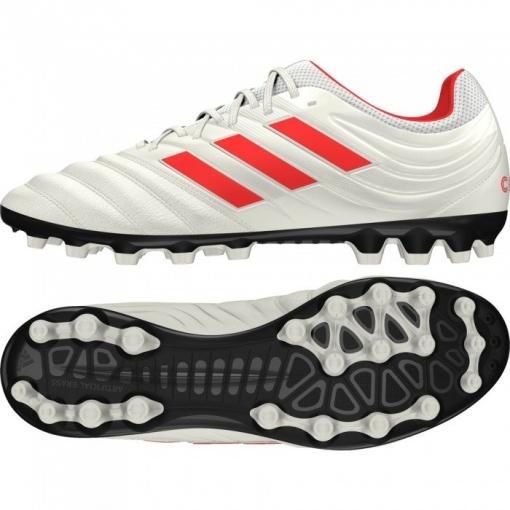 on sale 831ad 24b96 Botas De Fútbol Adidas Copa 19.3 Initiator Mode Suela Ag Blanco rojo Adulto
