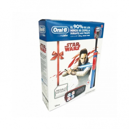 Cepillo Dental Oral-b Stages Star Wars Con Estuche  67c2dced3ea5
