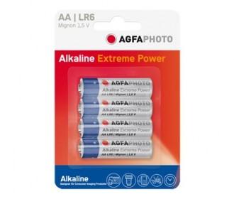 Agfa Pilas Alcalinas Aa Agfaphoto Pack 4uds (lr06)