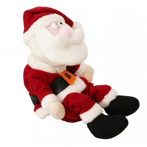 Imagenes De Papa Noel De Navidad.Lux Pro Papa Noel Rie A Carcajadas 31 Cm Decoracion Original Para Navidad Medidas Sentado Anchura X Altura 23cm X 20cm
