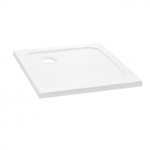 [neu.haus]® Plato De Ducha - Cuadrada - 80x80x4cm (blanco Puro)