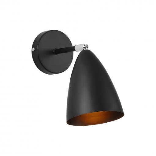 [lux.pro]® Lámpara De Pared - Movible - Ajustable - De Metal - Iluminación Interior - Luz - Ø12 Cm - E14