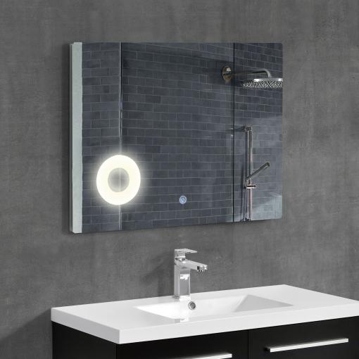 Espejos Para Bano Con Luz.Neu Haus Espejo De Bano Con Luz Led Espejo Para La Pared 600 X