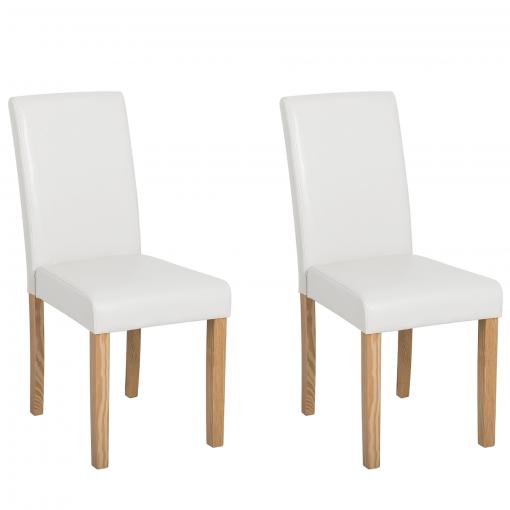 sillas blancas en carrefour