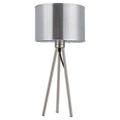[lux.pro] Lámpara De Mesa Moderna (e14) - Plata - Design - Modelo: Berlin