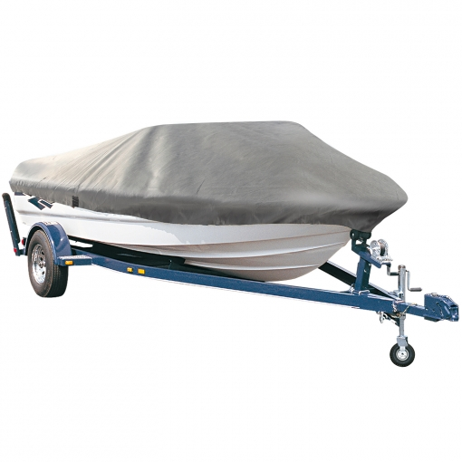 [pro.tec]® Cubierta De Barco - 668cm X 295cm - Gris - Funda Para Embarcaciones - Lona