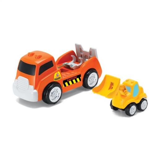 Camión Con Grúa Infantil | Las mejores ofertas de Carrefour