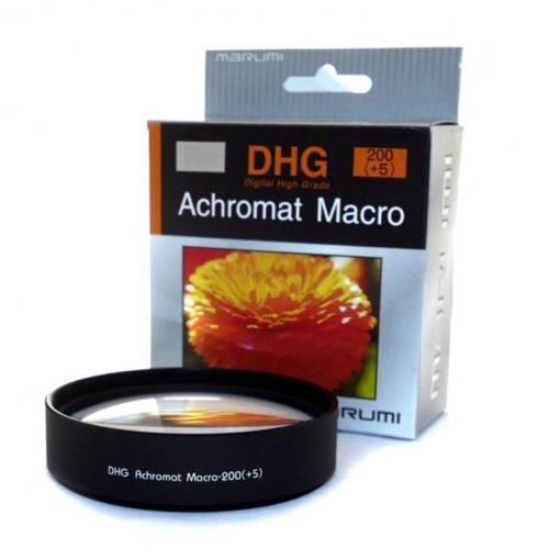 Filtro Dhg Achromat Macro 200 5 55mm