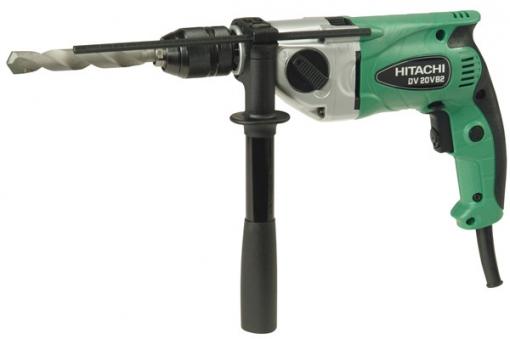 Taladro Percutor Electrico Reversible 20 Mm + Maleta 790 W - Hitachi - Dv20vb2
