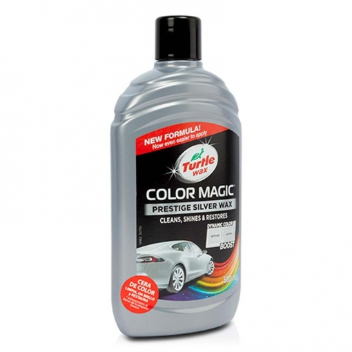Tw52710 - Color Magic Plata 500 Ml Turtle Wax