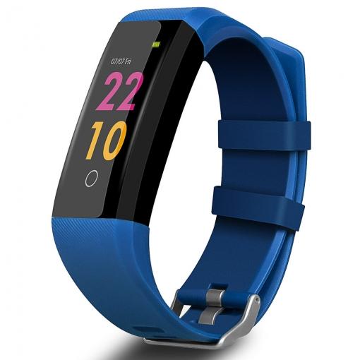 e0ae5cdcc888 Pulsera De Actividad Smartek Hrb-500 Azul Con Tensiómetro ...