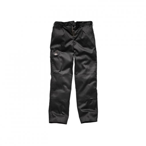 Dickies - Pantalones De Trabajo Modelo Redhawk Super Hombre Caballero (longitud Pierna Regular) (cintura 76cm X Long) (negro)