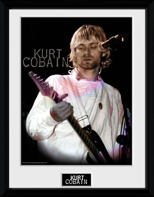 Fotografia Enmarcada Kurt Cobain Cook   Las mejores ofertas de Carrefour