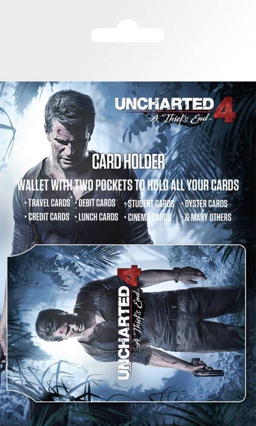 Tarjetero Uncharted 4 Keyart