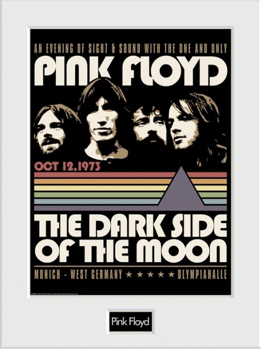 Art Print 30x40 Pink Floyd An Evening With