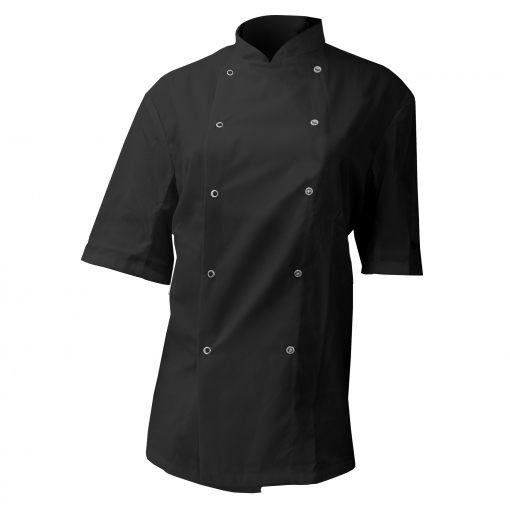 Dennys Afd - Chaqueta De Chef / Cocinero Para Hombre (extra Grande (xl)) (negro)