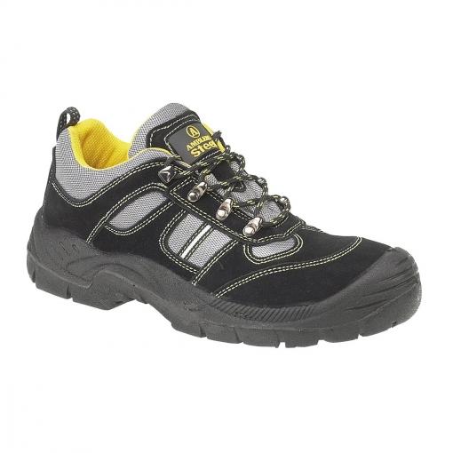 Amblers - Zapatillas De Trabajo/seguridad Laboral Unisex Modelo Fs111 S1-p (36 Eu) (negro)