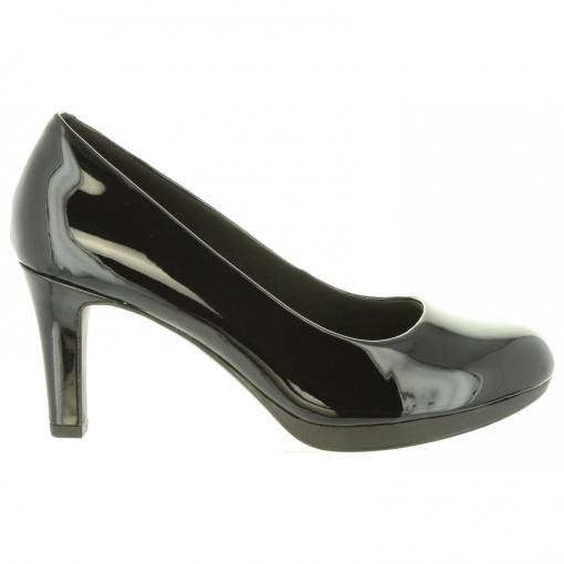 Zapatos de tacón CLARKS de Mujer 26129360 ADRIEL BLACK PAT