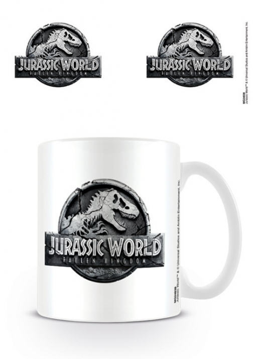 Taza Jurassic World Fallen Kingdom Logo