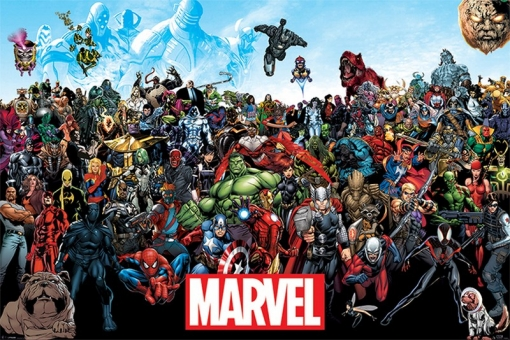 Maxi Poster Marvel Universe