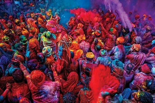 Maxi Poster Festival Of Colours