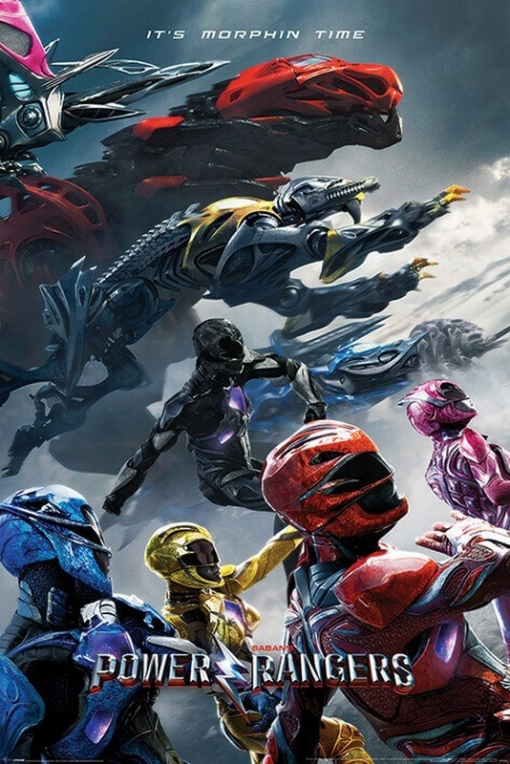 Maxi Poster Power Rangers Movie Charge