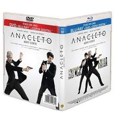 Anacleto: Agente Secreto (bd + Dvd + Copia Digital) [blu-ray]