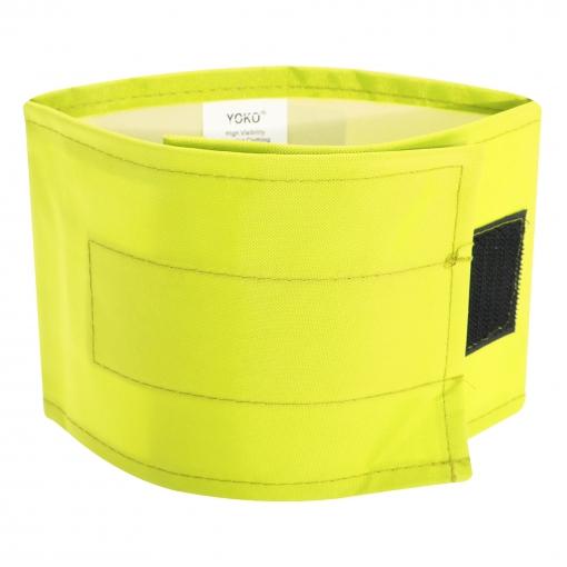Yoko - Brazalete Impermeable De Alta Visibilidad (l-xl) (amarillo Alta Visibilidad)